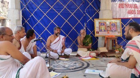 Vedanta Vadaavazhi Vaakyartha Sadas - Vaakyartha on Samasa Vaad by Mimamsakas, Tarka Vidwan and Vedantis