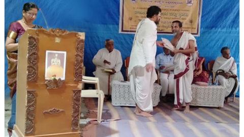 Swami Vedantha Desika-750 at Vedantacharya Sannidhi