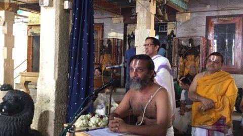 Thiruppavai Mahanadu @ Sri Venugopala Swami temple, Bangalore